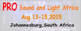 Pro Sound and Light Africa 2015